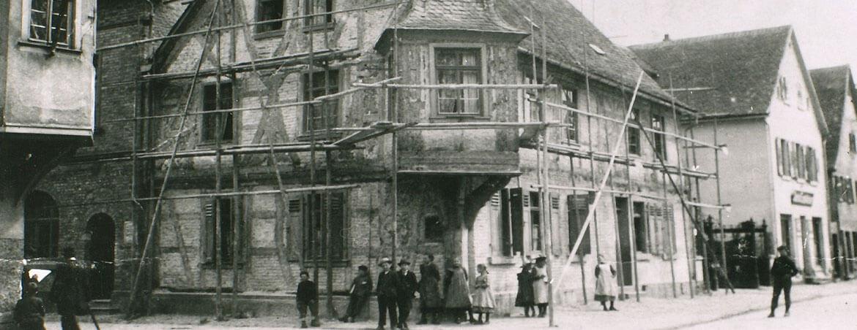 Historische Fotos vom Hotel Adler und der Kreisstadt Groß-Gerau