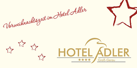 Weihnachtsessen im Hotel Adler Groß-Gerau